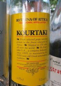 Retsina:希臘的傳統松脂酒