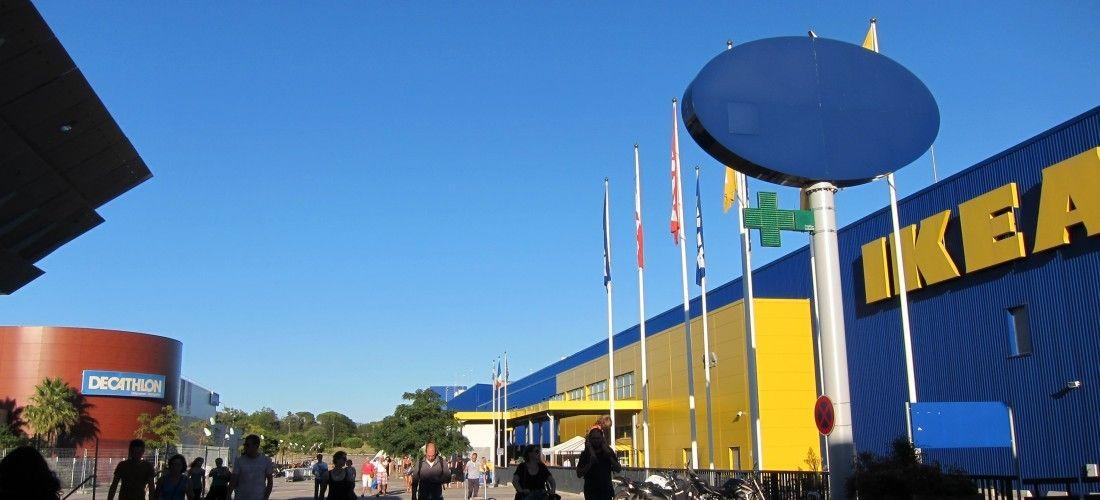 左:Decathlon,右;IKEA