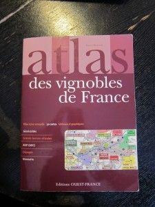 【書】法國葡萄酒產區地圖《Atlas des vignobles de France》(輕薄短小)