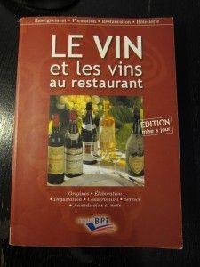 【書】法國侍酒師的聖經《Le vin et les vins au restaurant》