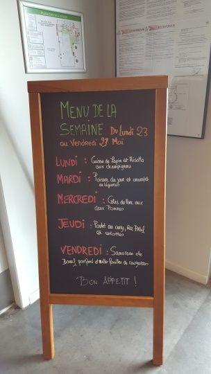 每天的菜單預告