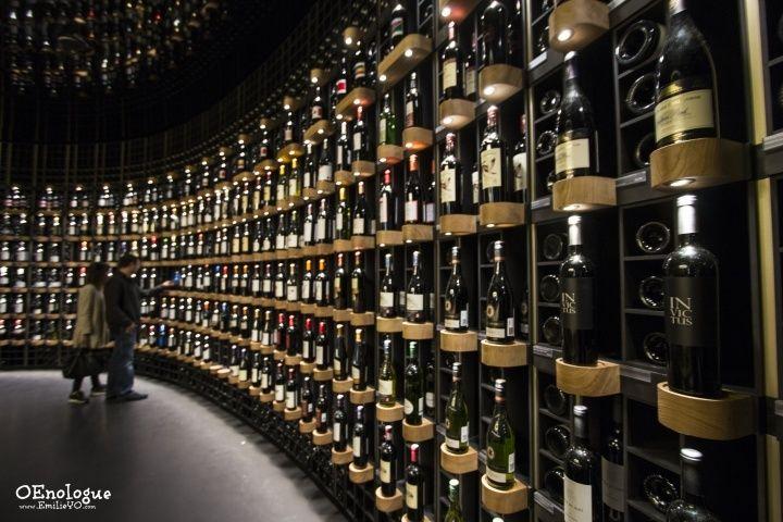 驚人的葡萄酒牆!