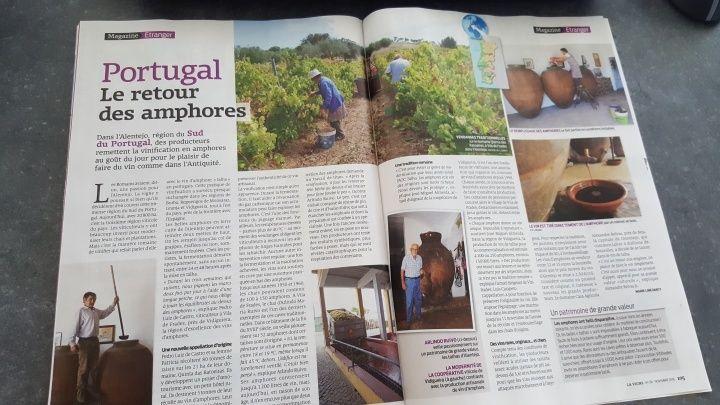 葡萄牙南方的Alentejo地區,有不少酒莊使用著古代陶罐釀酒!