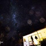 我的房東,還有南半球的銀河。南十字就在銀河裡喔。