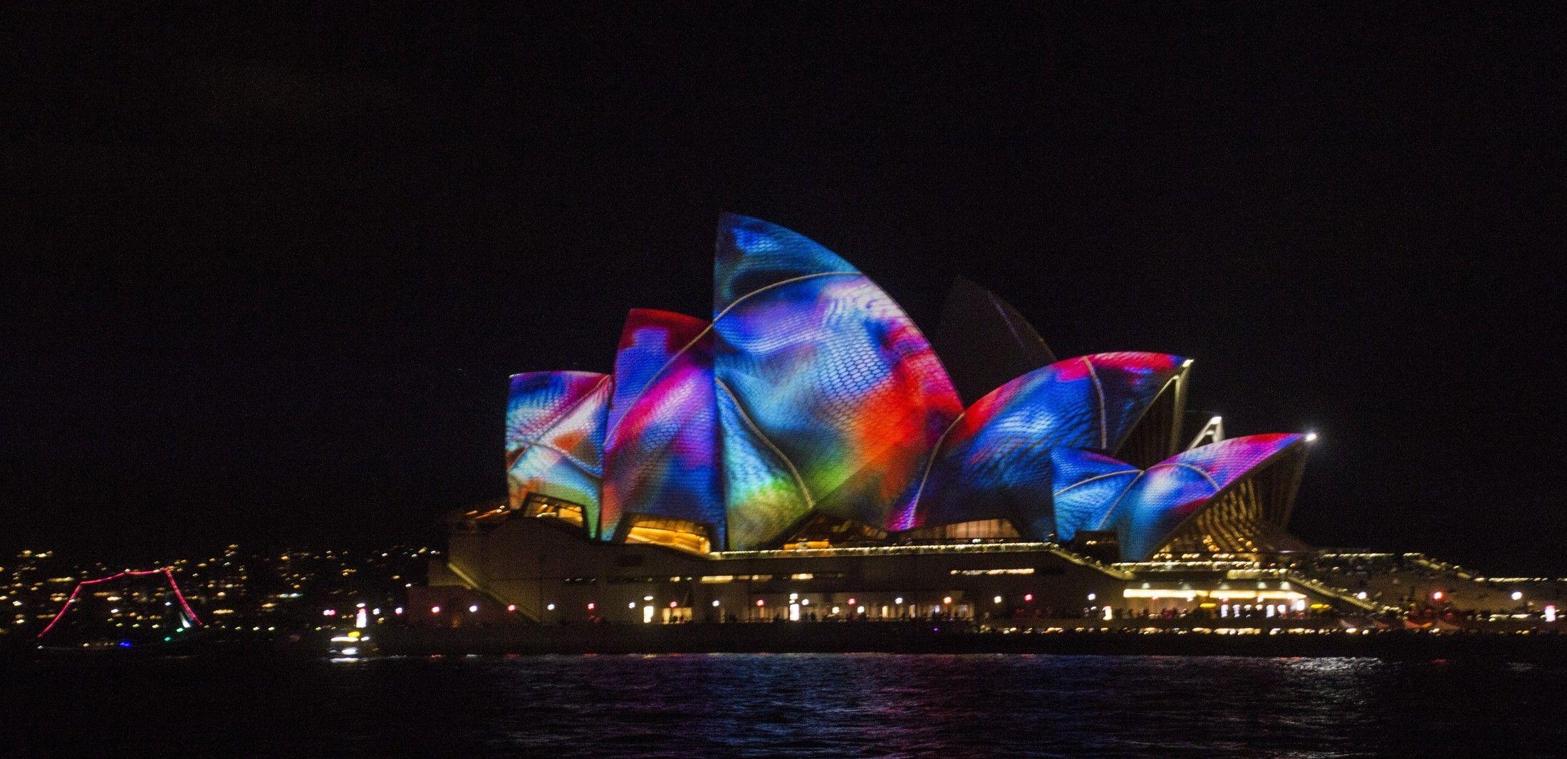 2017雪梨燈光音樂節Vivid Sydney