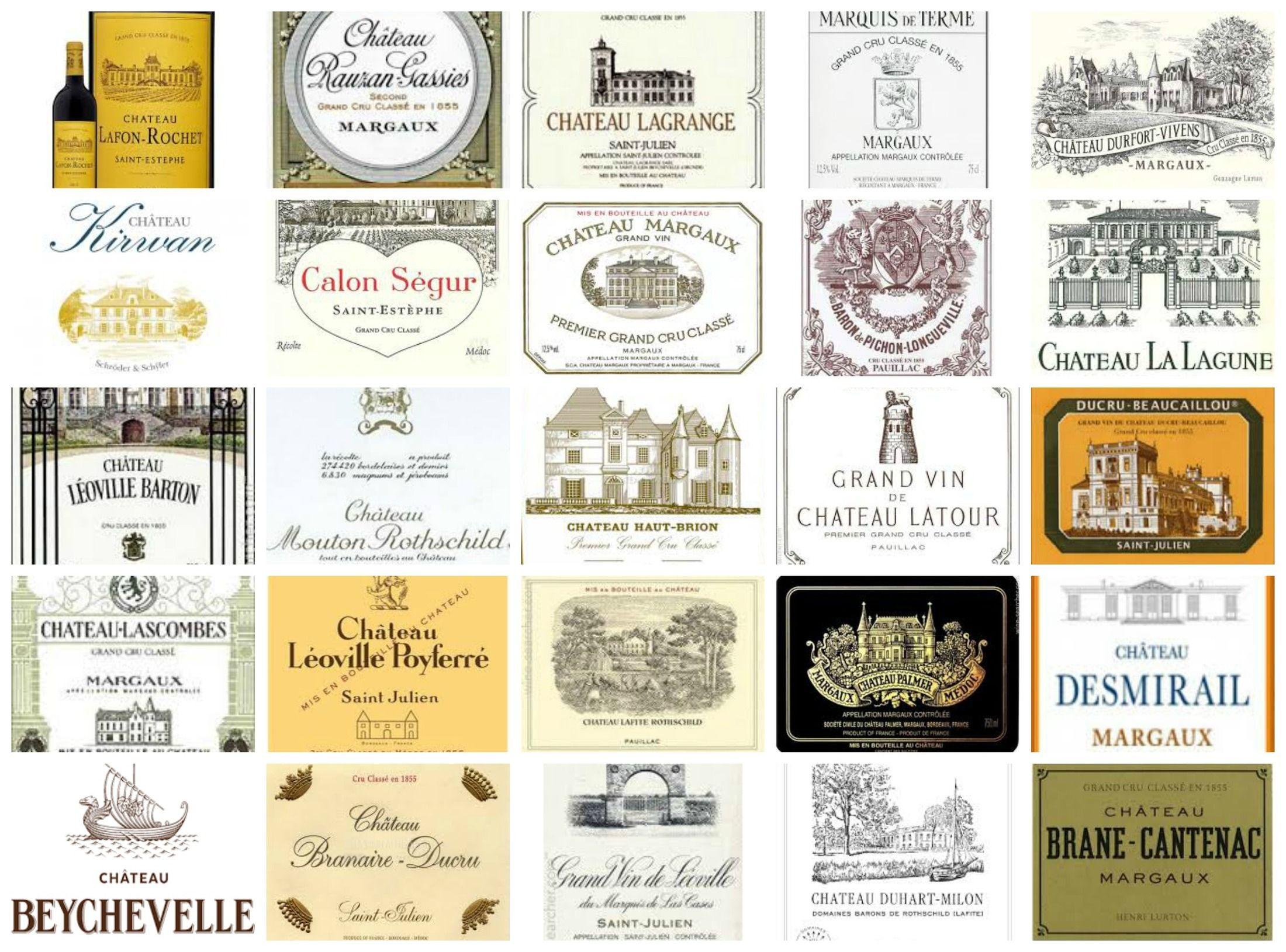 【侍酒師筆記】1855年 Bordeaux列級酒莊列表 – 法文發音+Médoc梅多克篇